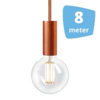 8X NUD Aqua Copper Series  Railverlichting + 8M Rails