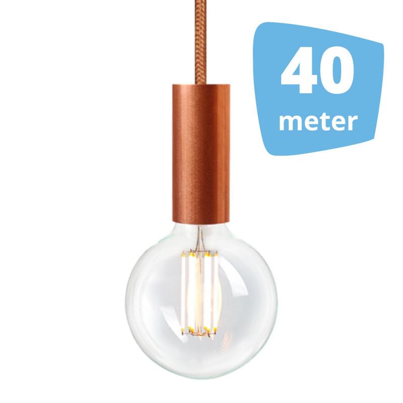 40X NUD Aqua Copper Series  Railverlichting + 40M Rails