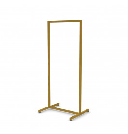 Solo hoog model goud Italiaans design kledingrek 60 cm breed