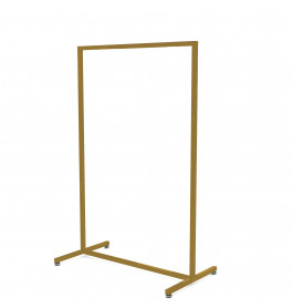 Solo hoog model goud Italiaans design kledingrek 90 cm breed
