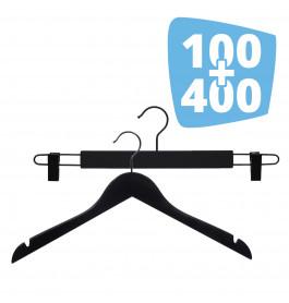 100X Ema 42cm + 400X Helena 44cm Black