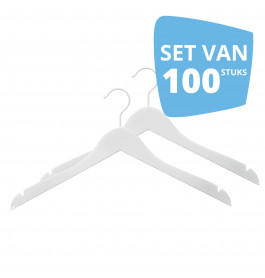 100X Hanger Helena 44cm White