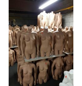 Huidkleurige Torso's vrouwen merk NWPR