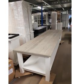 Houten tafel 380 cm breed