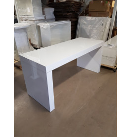 Witte high glossy tafel