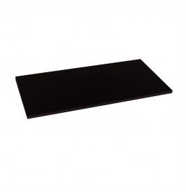 Plank 100 cm zwart 2501A