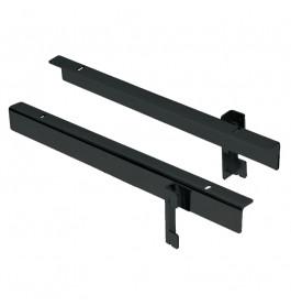 Italiaanse design suspance plankendragers 2630DX/SX.BLACK