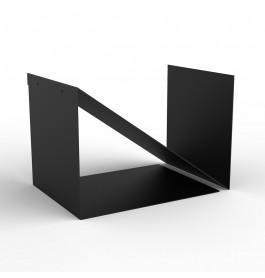 Demonteerbare zwarte display met 2 vakken ST3302.BLACK