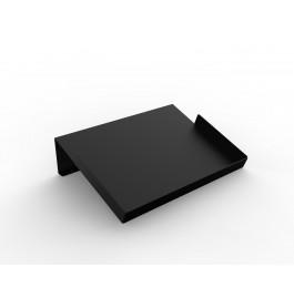 Hellend display zwart met opstaande randen ST3303.BLACK