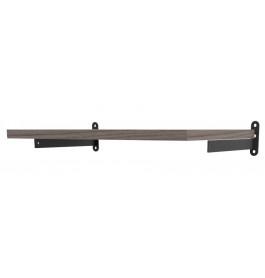 Solo plankdragerset mat zwart 4147DX/SX
