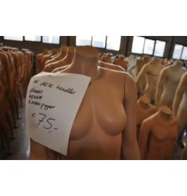 Dames etalagepop zonder hoofd van exclusief A-merk