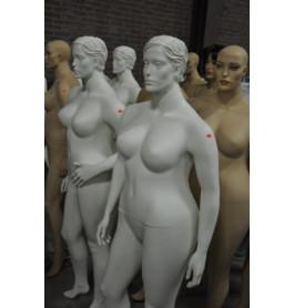 Nieuwe gestyleerde damesfiguren met een maatje meer