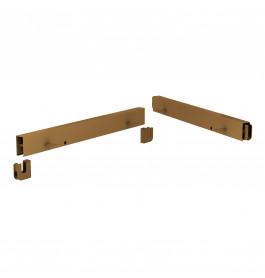 Bigshop plankdragerset goud 8843DX/SX