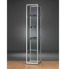 Luxe vitrinekast aluminium 40 cm