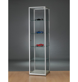 Luxe vitrinekast aluminium 50 cm