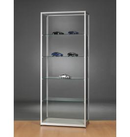 Luxe vitrinekast aluminium 80 cm