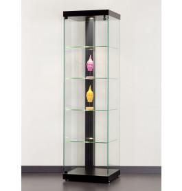 Special vitrinekast Linea 50 zonder opties| 50 cm Zwart