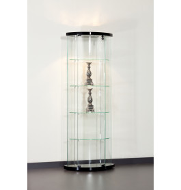 Special vitrinekast Truman 64 cm zwart