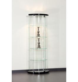 Special vitrinekast Truman 64 cm zonder opties | Zwart