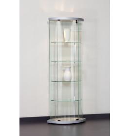Special vitrinekast Truman 64 cm zilver