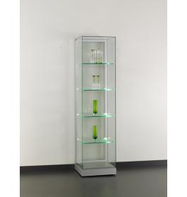 Special vitrinekast Base 48 cm zonder opties | Zilver