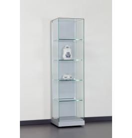 Special vitrinekast Modern 48 cm zonder opties | Zilver