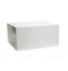 Wit glossy podium 100 x 100 x 50 cm B-BKP-010