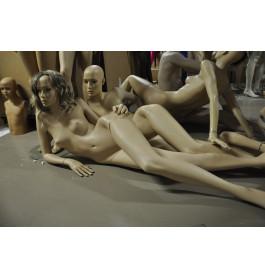 Damesfiguren liggend van exclusief A-merk zonder pruik