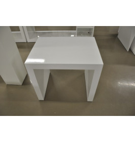 Glossy witte tafel
