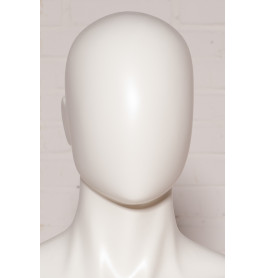 Faceless heren etalagepoppen van merk Gruppo Corso model in wit