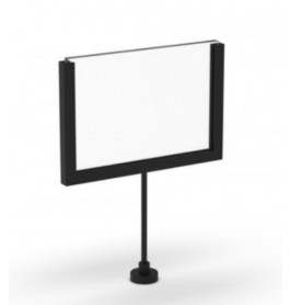 Display A6 magnetisch zwart