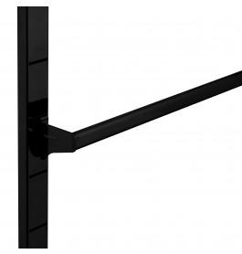 Accessoire stang 100 cm breed model laser zwart mat