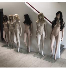 Gebruikte Adel Rootstein dames mannequins