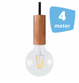 4X AllaLumi Copper Series Railverlichting + 4M Rails