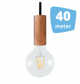 40X AllaLumi Copper Series Railverlichting + 40M Rails