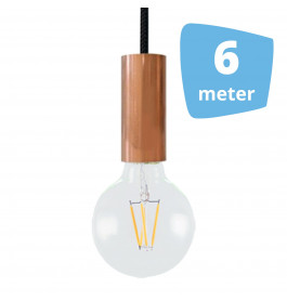 6X AllaLumi Copper Series Railverlichting + 6M Rails