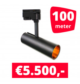 LED Railverlichting Horeca Arrow 100 spots + 100M rails