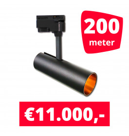 LED Railverlichting Horeca Arrow 200 spots + 200M rails