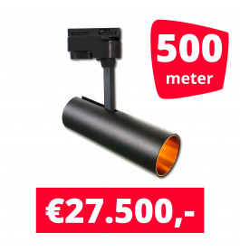 LED Railverlichting Horeca Arrow 500 spots + 500M rails