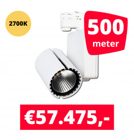 LED Railverlichting Baron White 2700K 500 spots + 500M rails