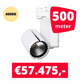LED Railverlichting Baron White 4000K 500 spots + 500M rails