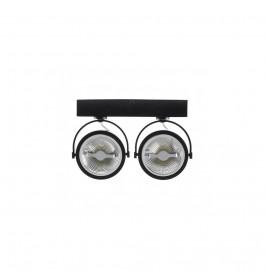 LED Barro Double 2x15W Zwart