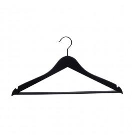 Hanger black Helena 44 cm bar