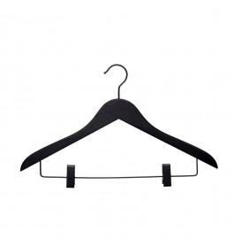 Hanger black Helena 44 cm clips