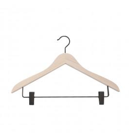 Hanger raw Helena 44 cm black clips