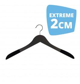 Hanger black Helena 44 cm Flock Extreme 2cm Dik