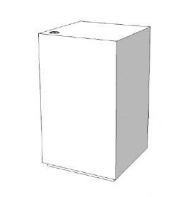 Toonbankje met legvakken en slot C-PDY-001