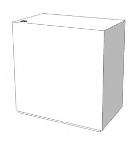 Toonbank zonder toonvak met slot C-PDY-003