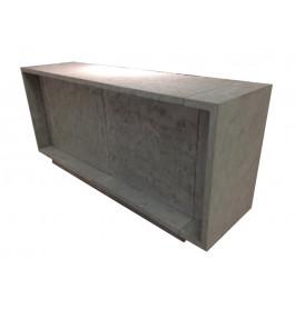 Excentric toonbank beton grijs C-PEC-016