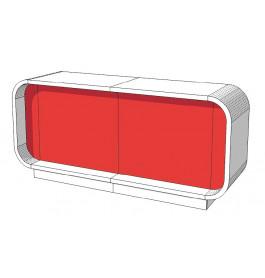 Super high glossy toonbank duotone C-PEC-017-COMP 220 cm